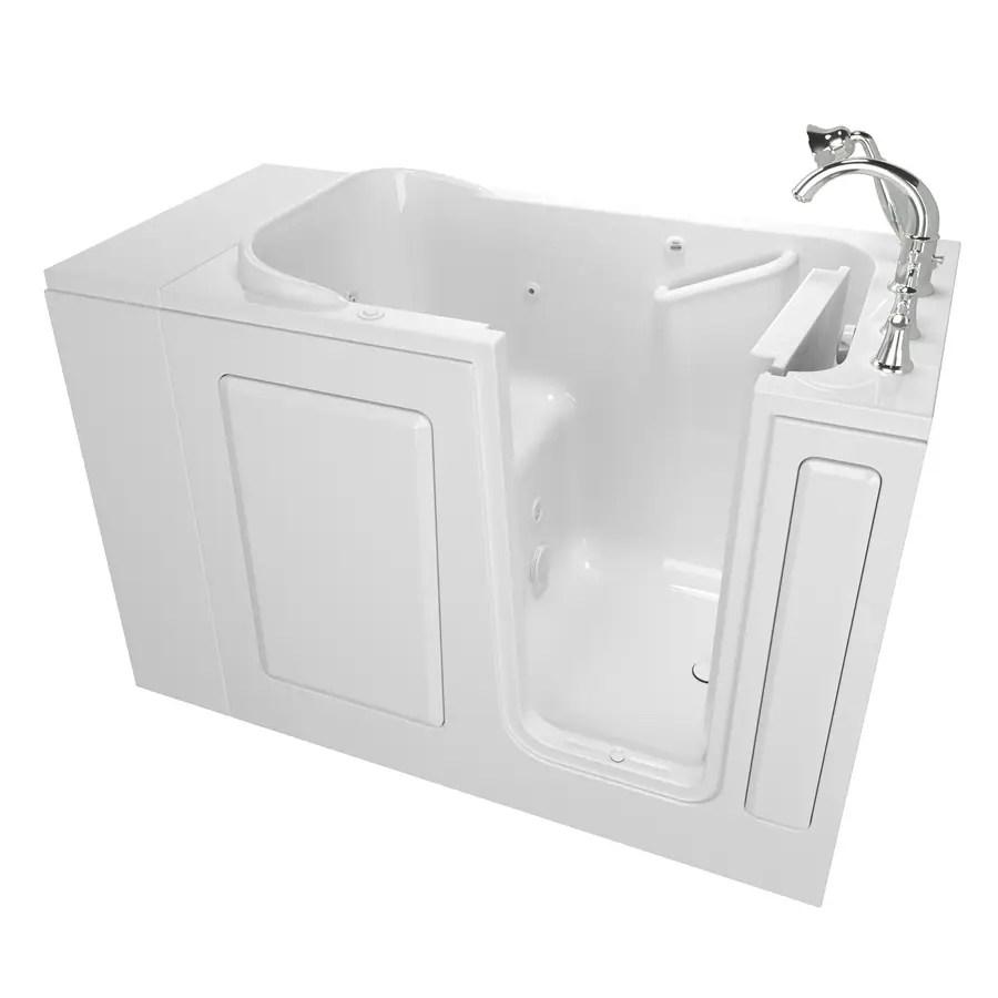 Shop Safety Tubs 48 In White GelcoatFiberglass Walk In