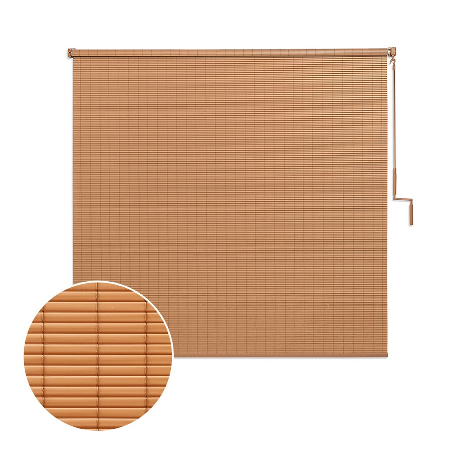 coolaroo exterior shade by coolaroo 72 in x 72 in tan light filtering cordless outdoorroller shade