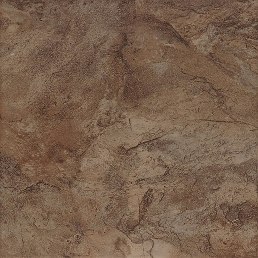 style selections canyon 7 pack espresso 18 in x 18 in glazed porcelain tile