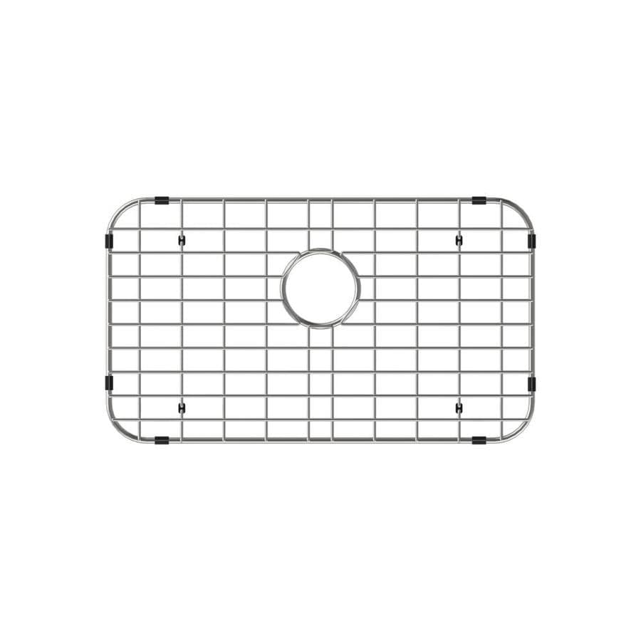 swiss madison 31 in x 18 in stainless steel sink grid