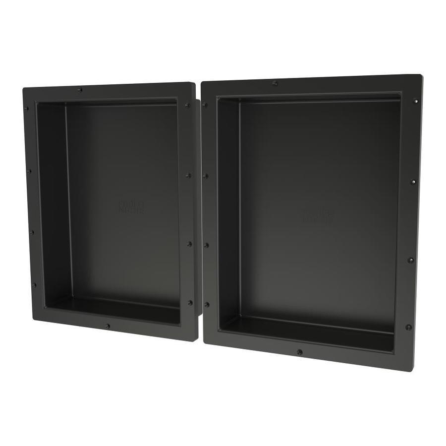 Image Result For Tile Redi Redi Niche Black Tile Shower Wall Shelf