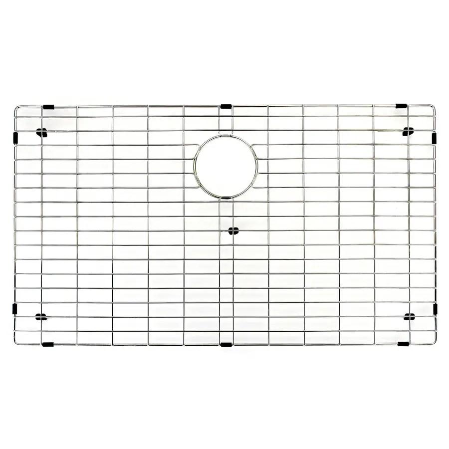 vigo 33 75 in x 17 75 in sink grid