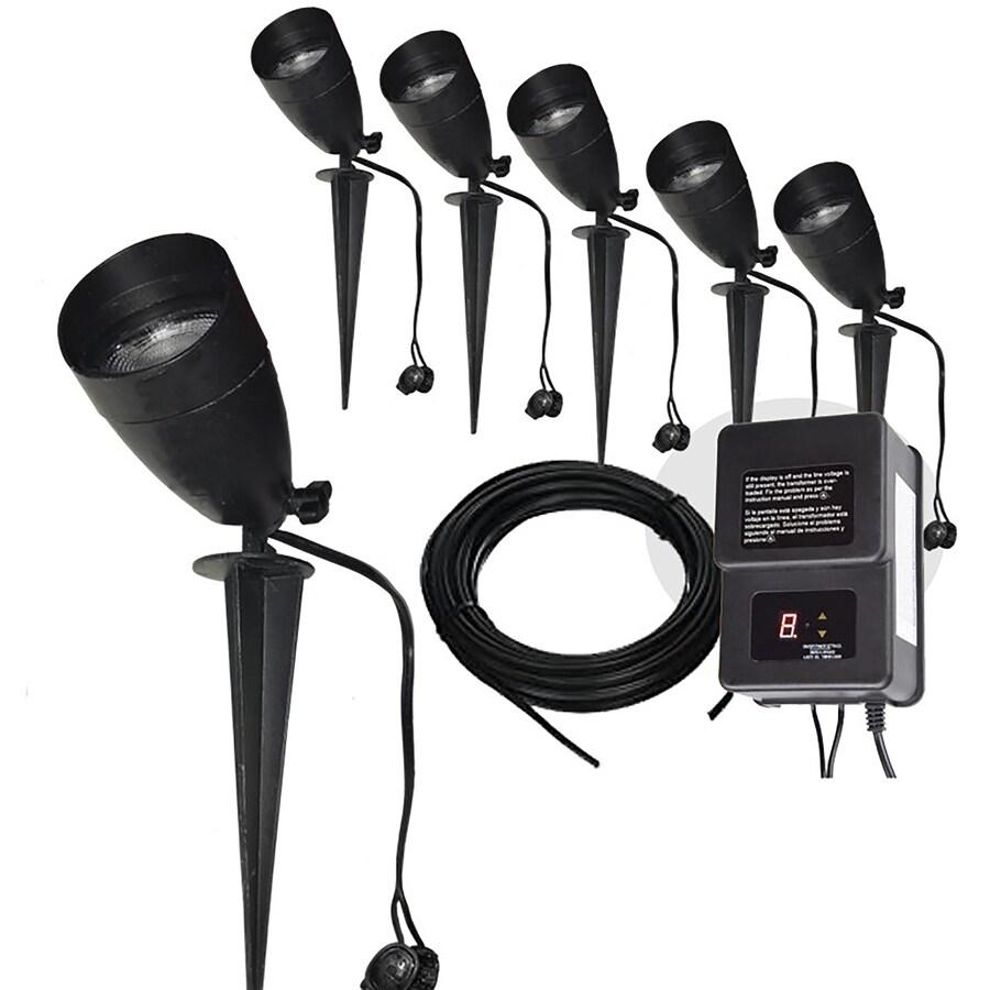 portfolio 8pc low voltage landscape light kit ea