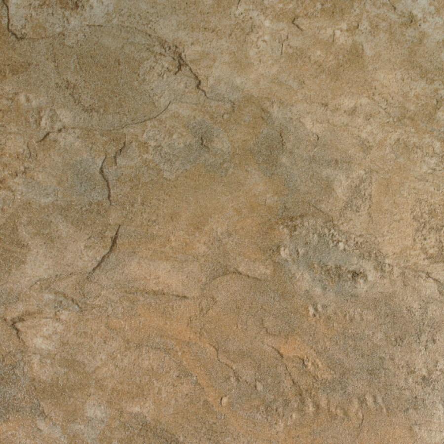 style selections 13 in w x 4 27 ft l sierra slate embossed tile look laminate flooring