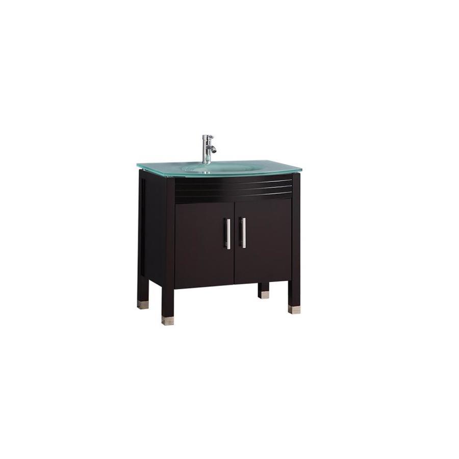 mtd vanities 32 in espresso single sink