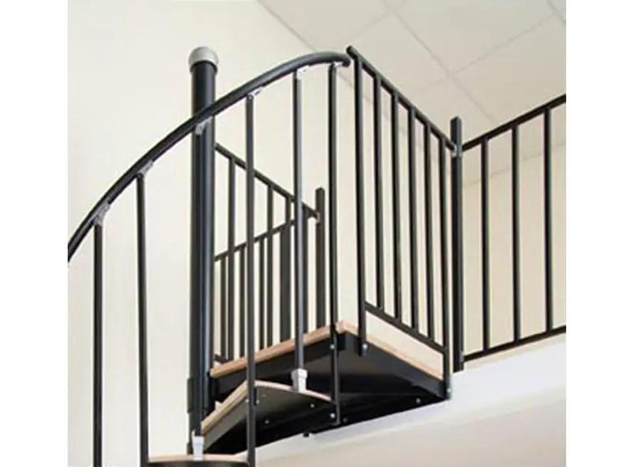 The Iron Shop Houston 1 75 Ft Black Painted Stair Railing Kit In   Black Iron Stair Railing   Industrial   Iron Baluster   Rectangular Iron   Horizontal   Contemporary