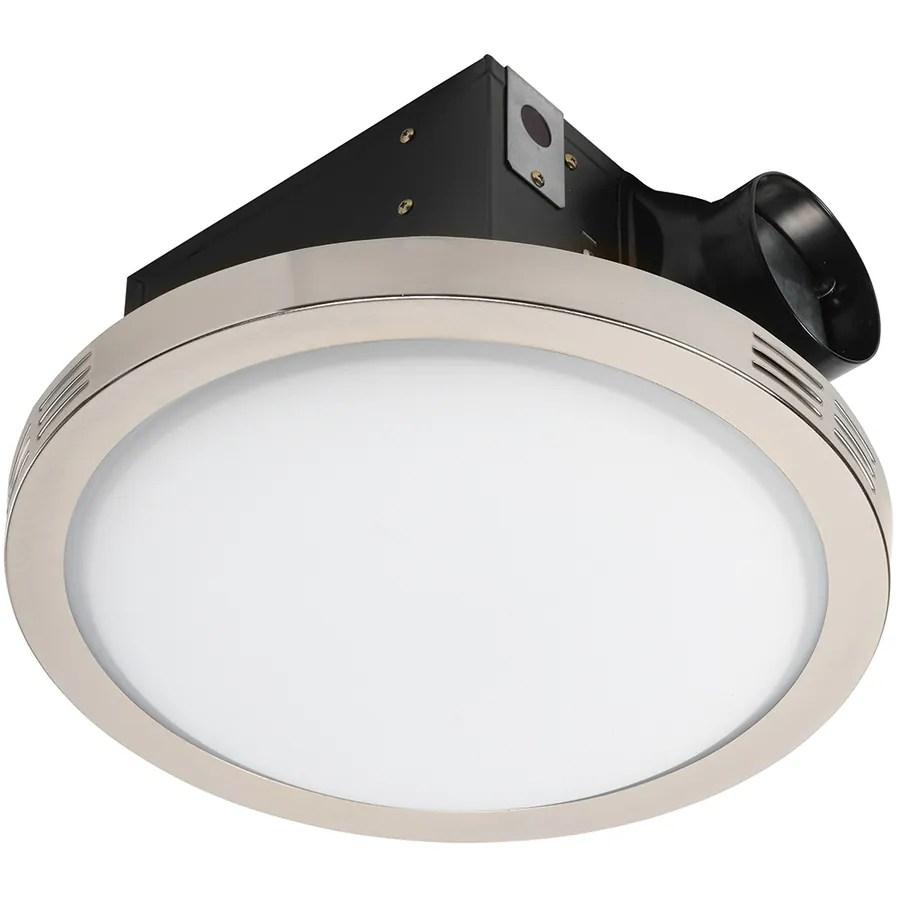 utilitech ventilation fan 2 sone 90 cfm 4 es in 1 bathroom fan lowes com
