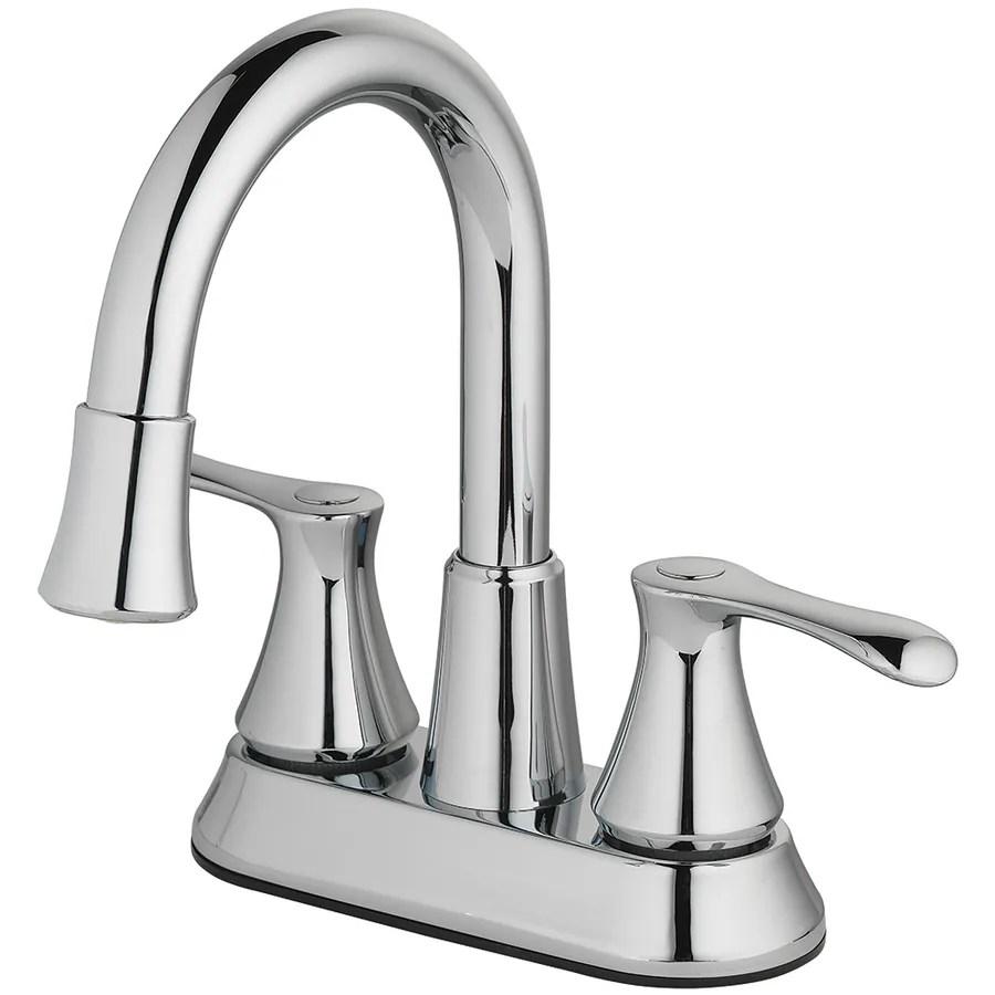 homewerks worldwide led aerator chrome 2 handle 4 in centerset watersense bathroom sink faucet with drain