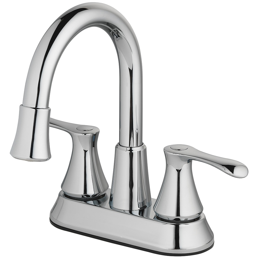 homewerks worldwide led aerator chrome 2 handle 4 in centerset watersense bathroom sink faucet with drain lowes com