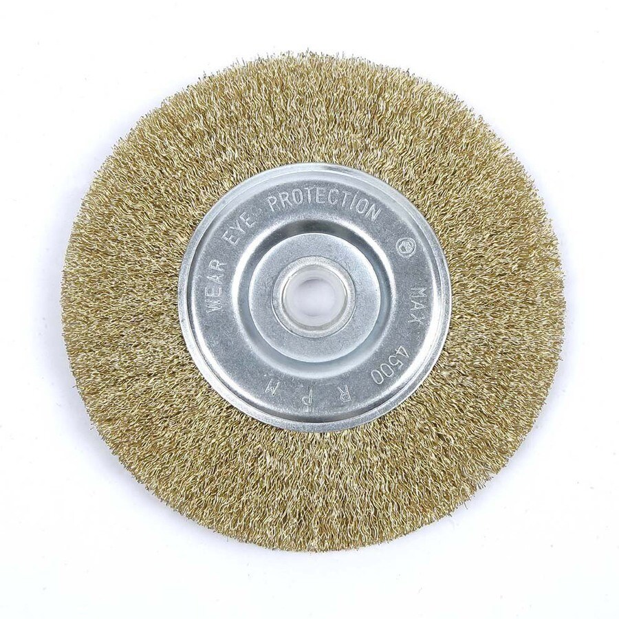 Shop Kobalt 6 In Fine Wire Wheel Brush At