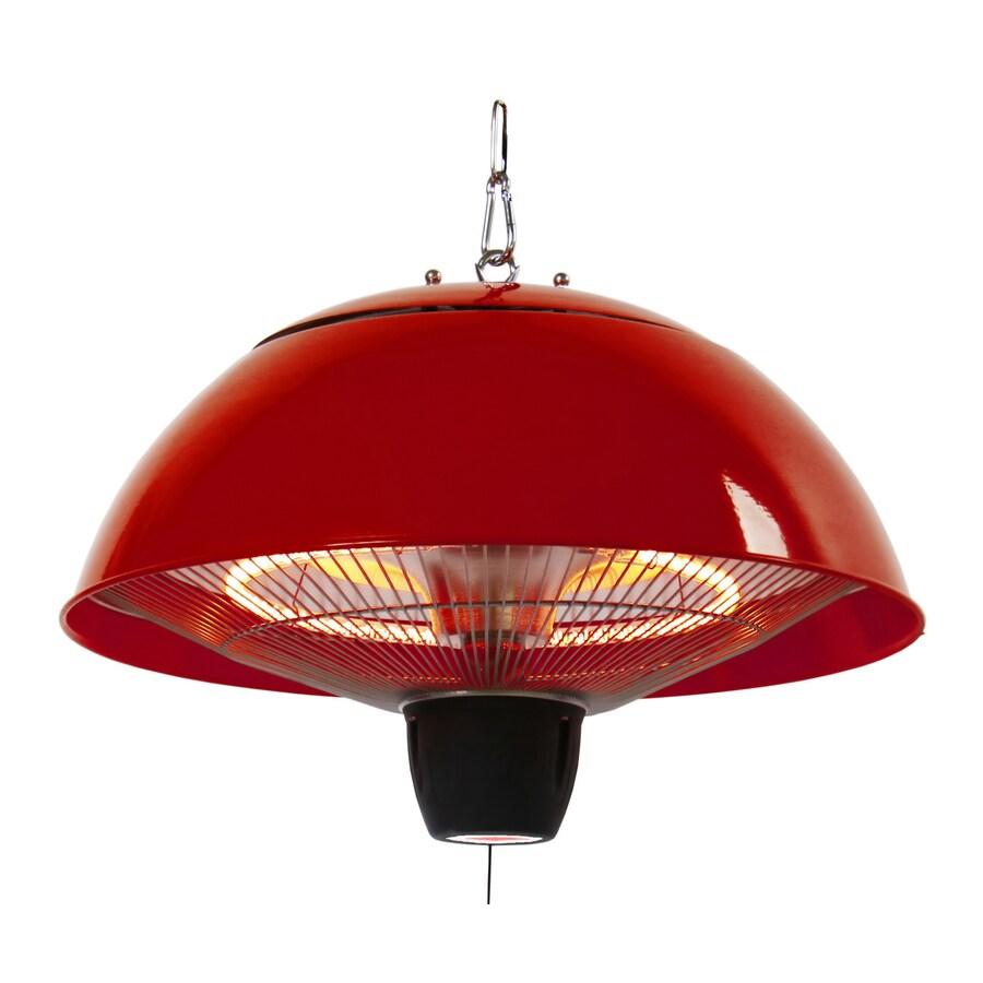 energ 5100 btu 110 volt red aluminum electric patio heater lowes com