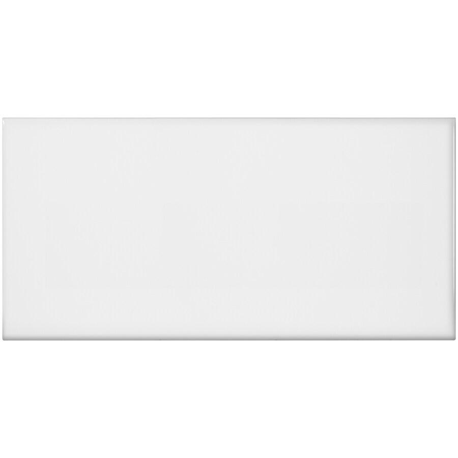 satori hudson brilliant white glossy 4 in x 8 in glossy ceramic wall tile