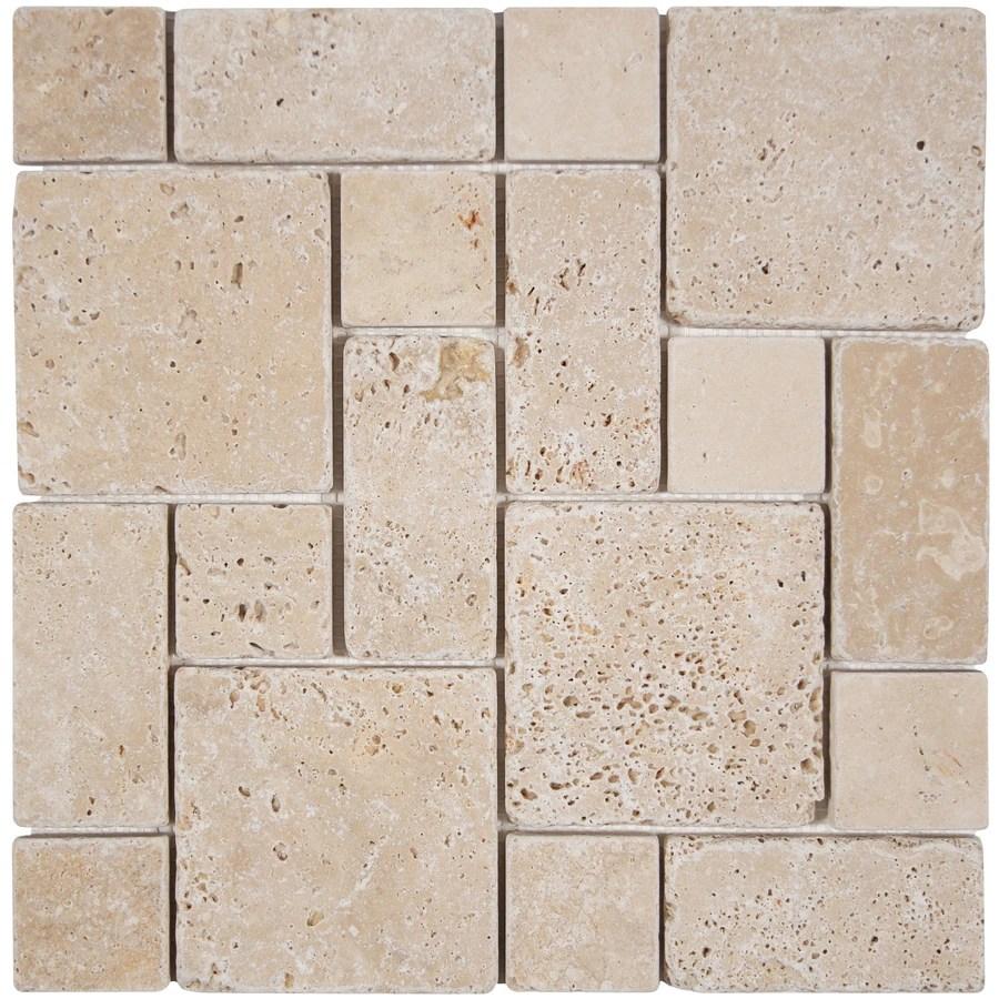 travertine ivory tile at lowes com