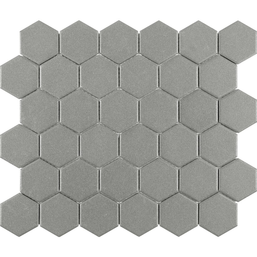 floor and wall hexagonal tile at lowes com