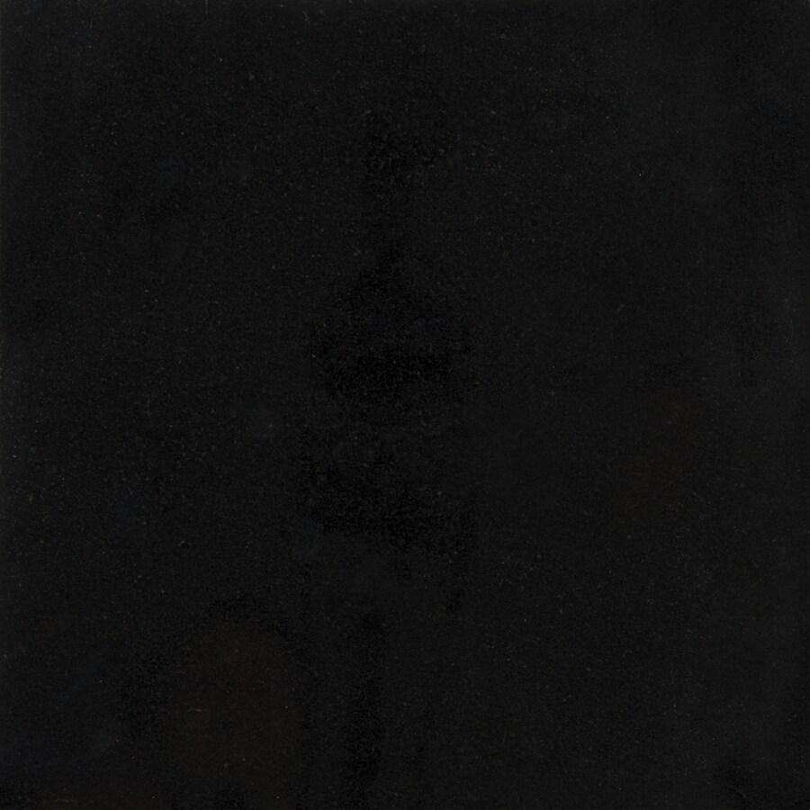 satori absolute black 12 in x 12 in polished natural stone granite floor tile