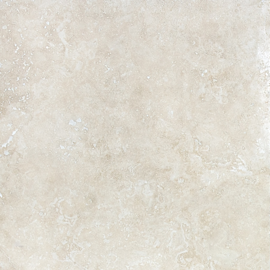 anatolia tile ivory 18 in x 18 in honed and filled natural stone travertine floor tile