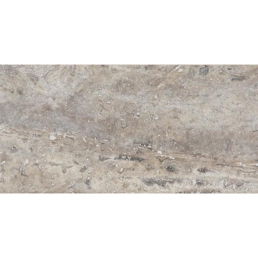 anatolia tile 44 pack silver ash 3 in x 6 in honed and filled natural stone travertine tile