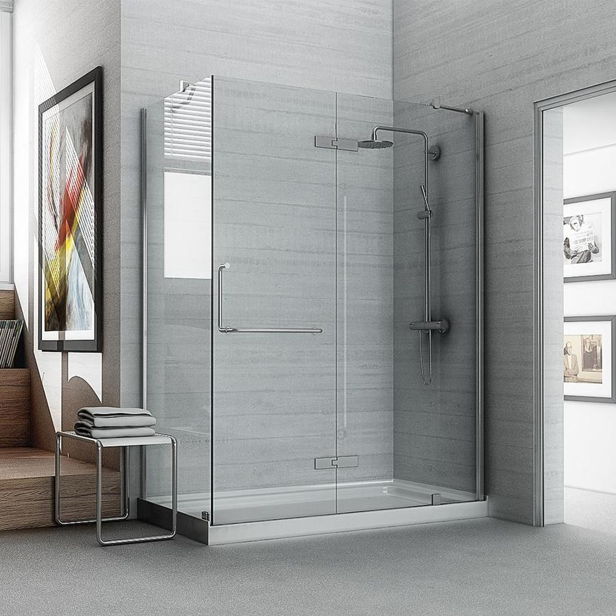 Shop OVE Decors Shelby 740 In H X 3025 In W Shower Glass Panel At