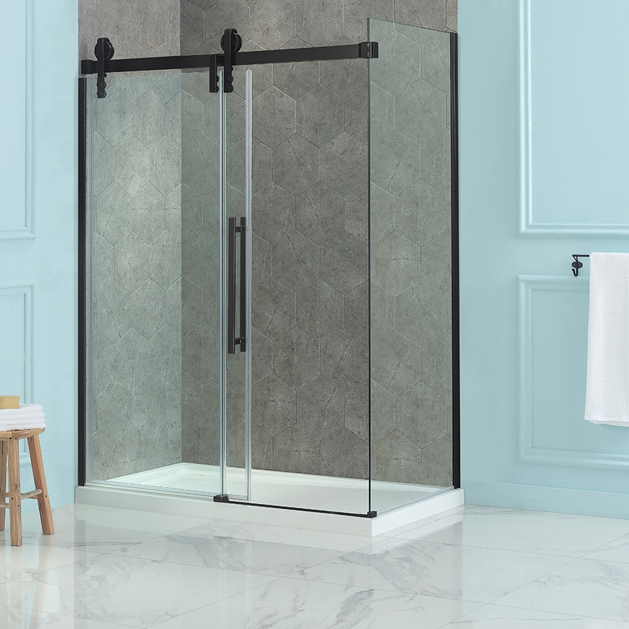 OVE Decors Sedona 7875 In H X 30375 In W Clear Shower