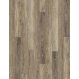 Shop Vinyl Plank at Lowes com SMARTCORE 8 Piece 5 91 in x 48 03 in Woodford Oak Locking Luxury Vinyl