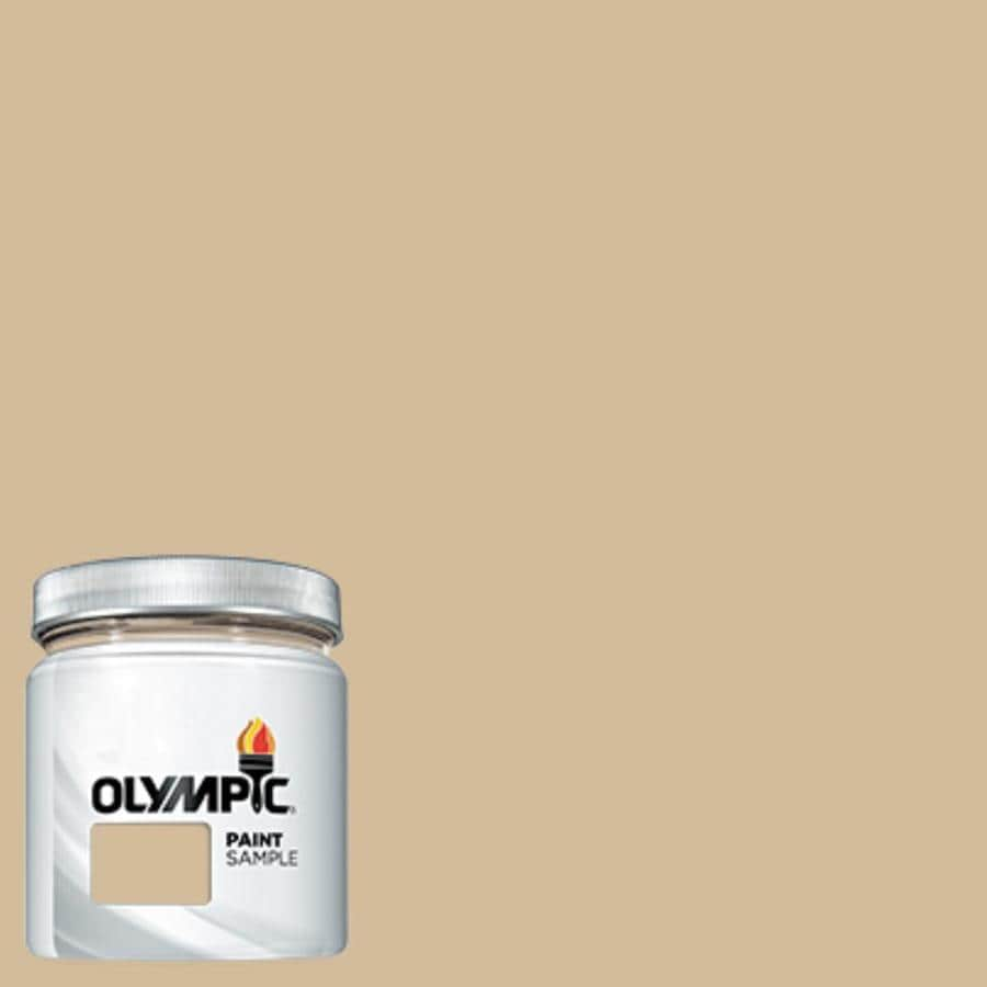 Olympic Pony Tail Interior Exterior Paint Sample Actual Net Contents   Fl