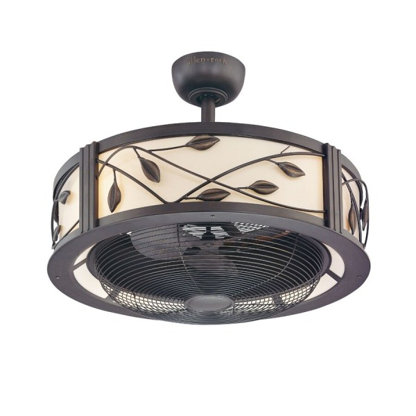 Shop Fanimation Studio Collection Eastview 23 in Dark bronze Indoor     Fanimation Studio Collection Eastview 23 in Dark bronze Indoor Downrod  Mount Ceiling Fan with Light