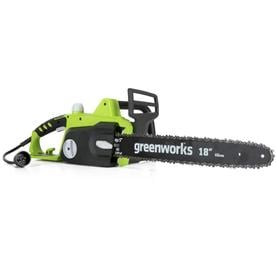 Greenworks 14 5 Amp 18 In Corded Electric Chainsaw