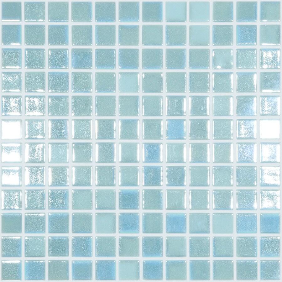 elida ceramica glow green glass mosaic