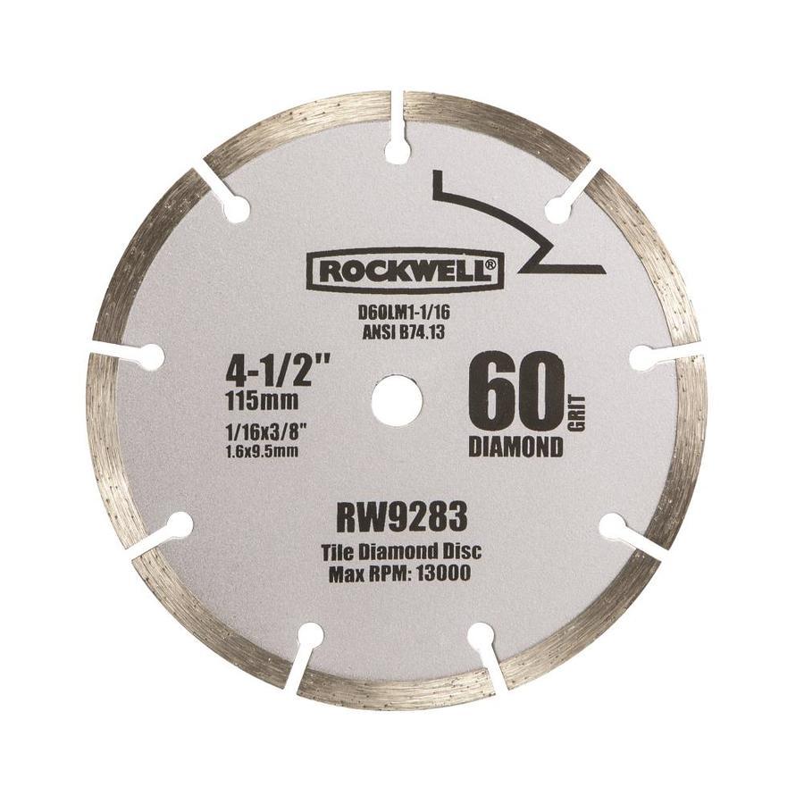 rockwell 4 1 2 in 9 tooth diamond circular saw blade