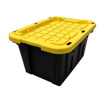 COMMANDER Plastic Storage Totes #479293
