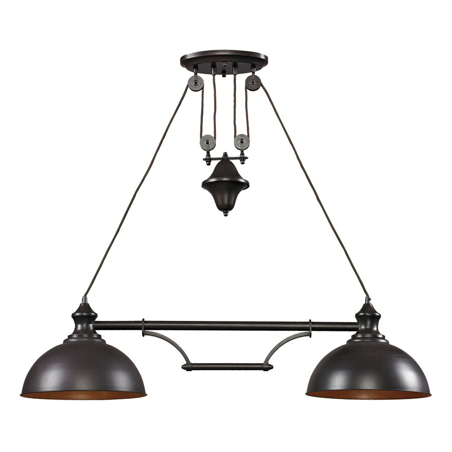 westmore by elk lighting crossens park oiled bronze casual transitional kitchen island light