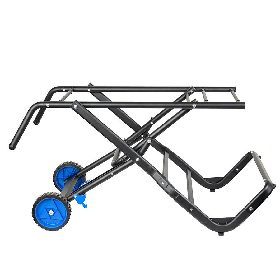 delta tile saw folding stand in the saw