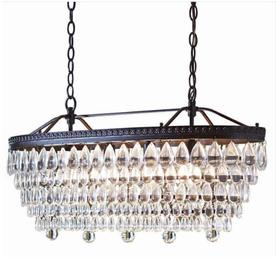 crystal chandelier tiered # 65