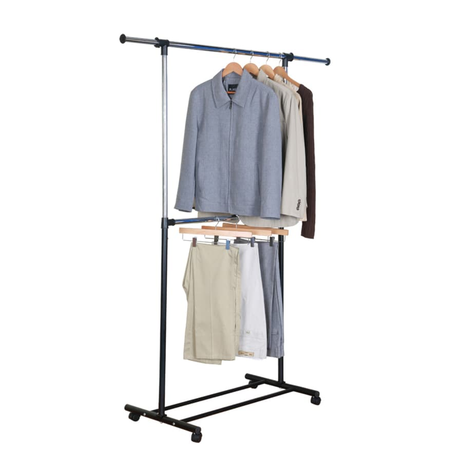 style selections steel clothing rack