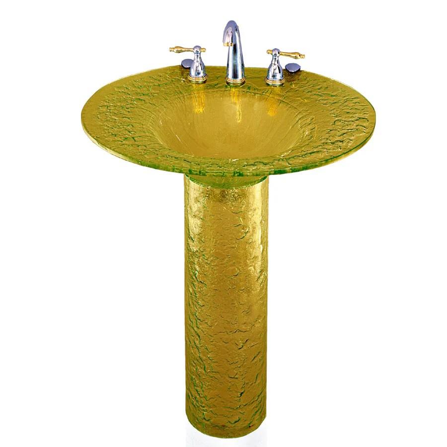 contemporary bath design pedestal sink in the pedestal sinks department at lowes com
