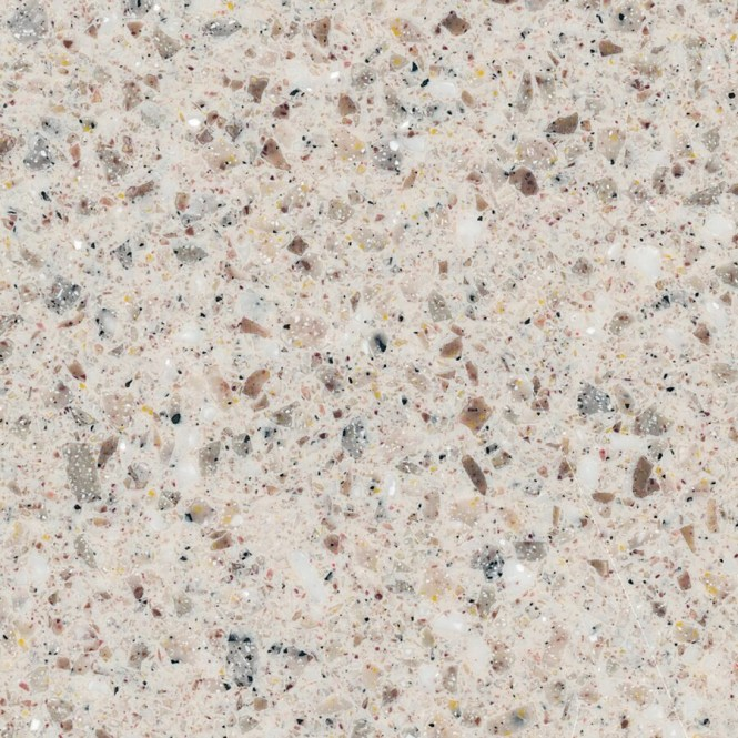 Solid Surface Kitchen Countertop Sample