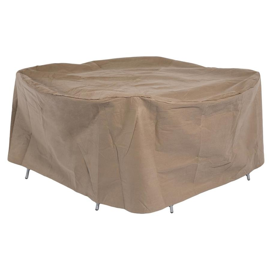 duck covers essential latte polyethylene patio furniture cover