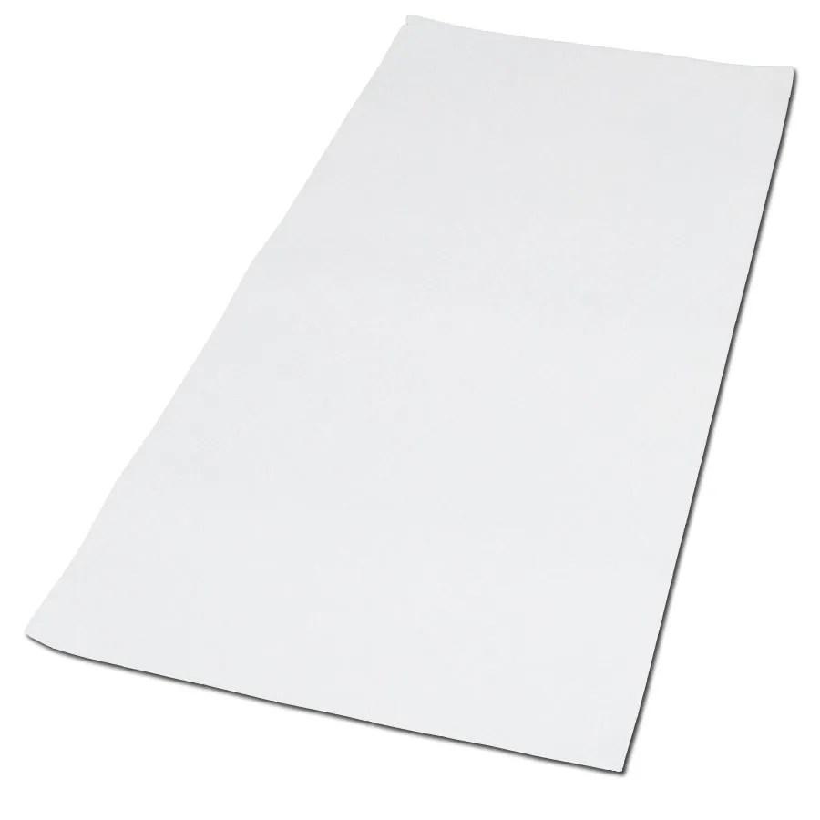 Shop NuTub 40 In X 16 In White Vinyl Bath Mat At