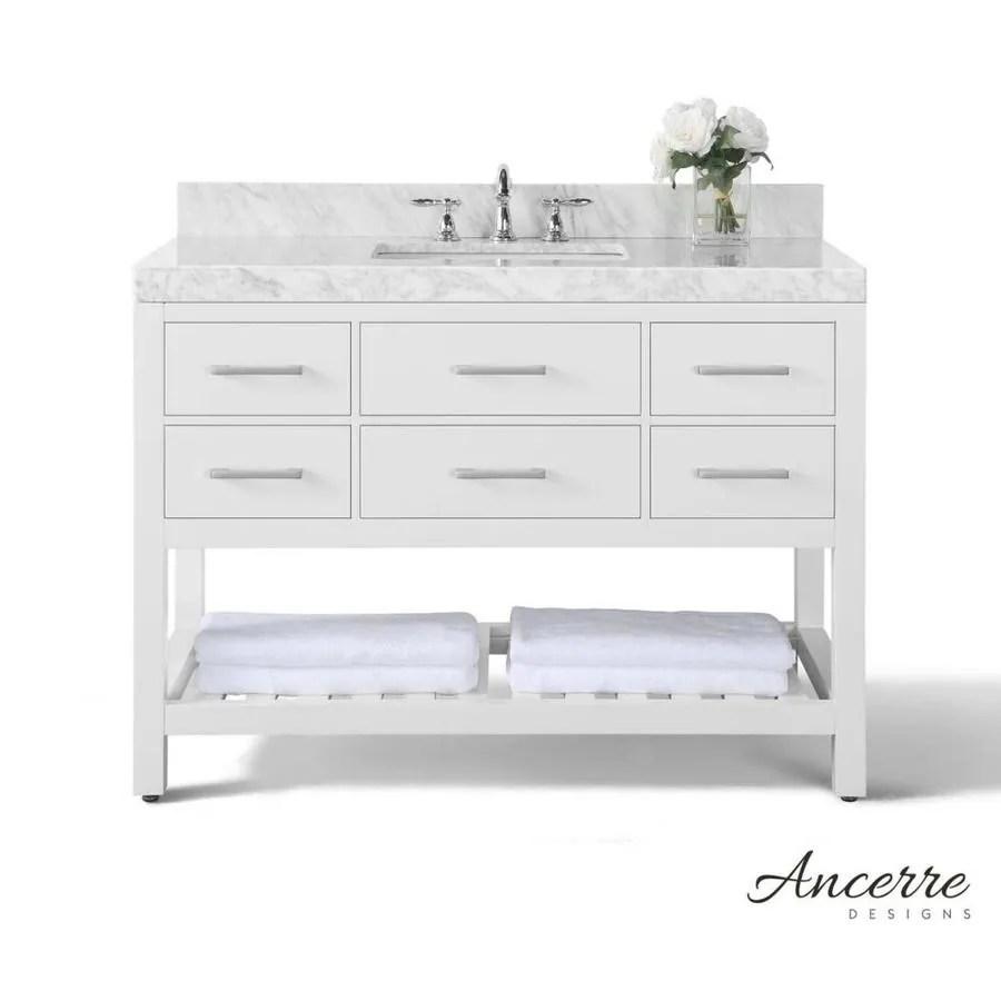 shop ancerre designs elizabeth white undermount single sink