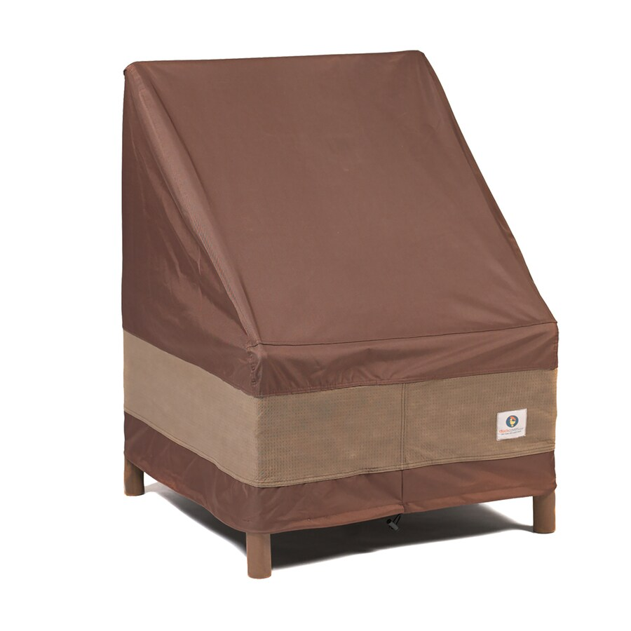 duck covers ultimate mocha cappuccino polyester patio furniture cover