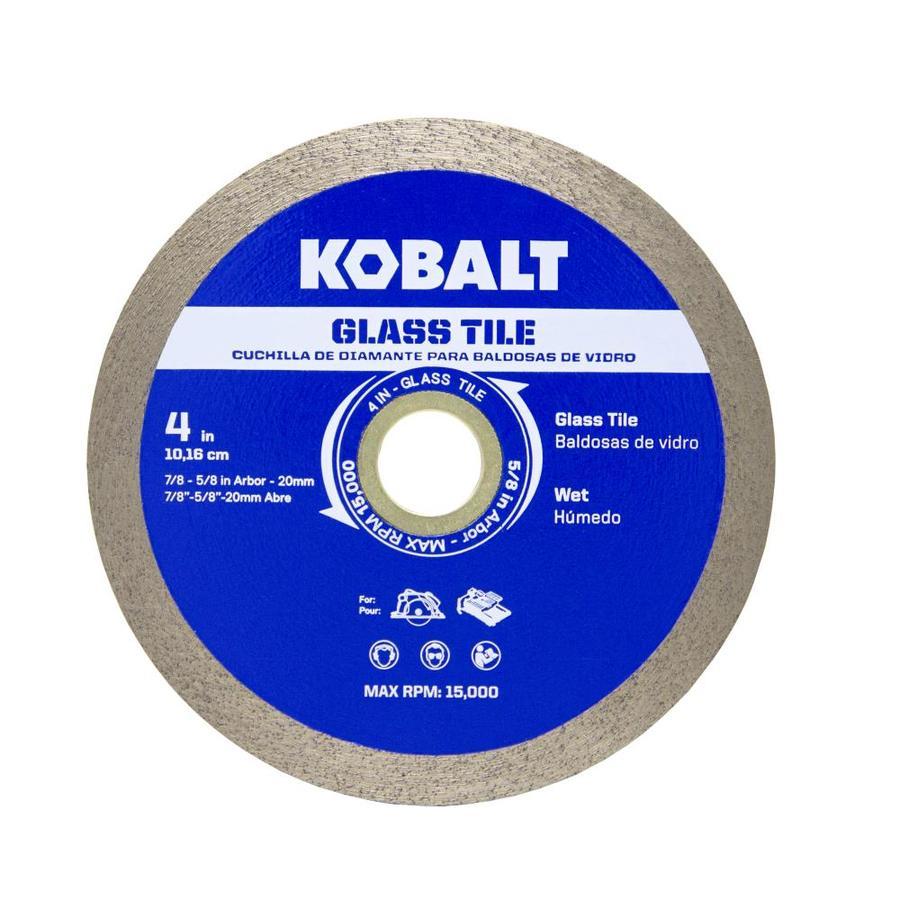 kobalt 4 in glass tile diamond blade