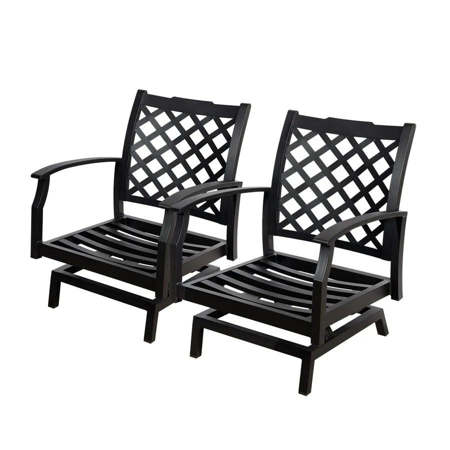 aluminum patio conversation chairs