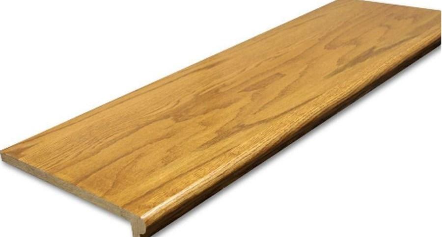Stairtek Retrotread 11 5 In X 42 In Marsh Prefinished Red Oak | 42 Oak Stair Treads | Stair Parts | Wood | White Oak Unfinished | Modern Retro | Lowes