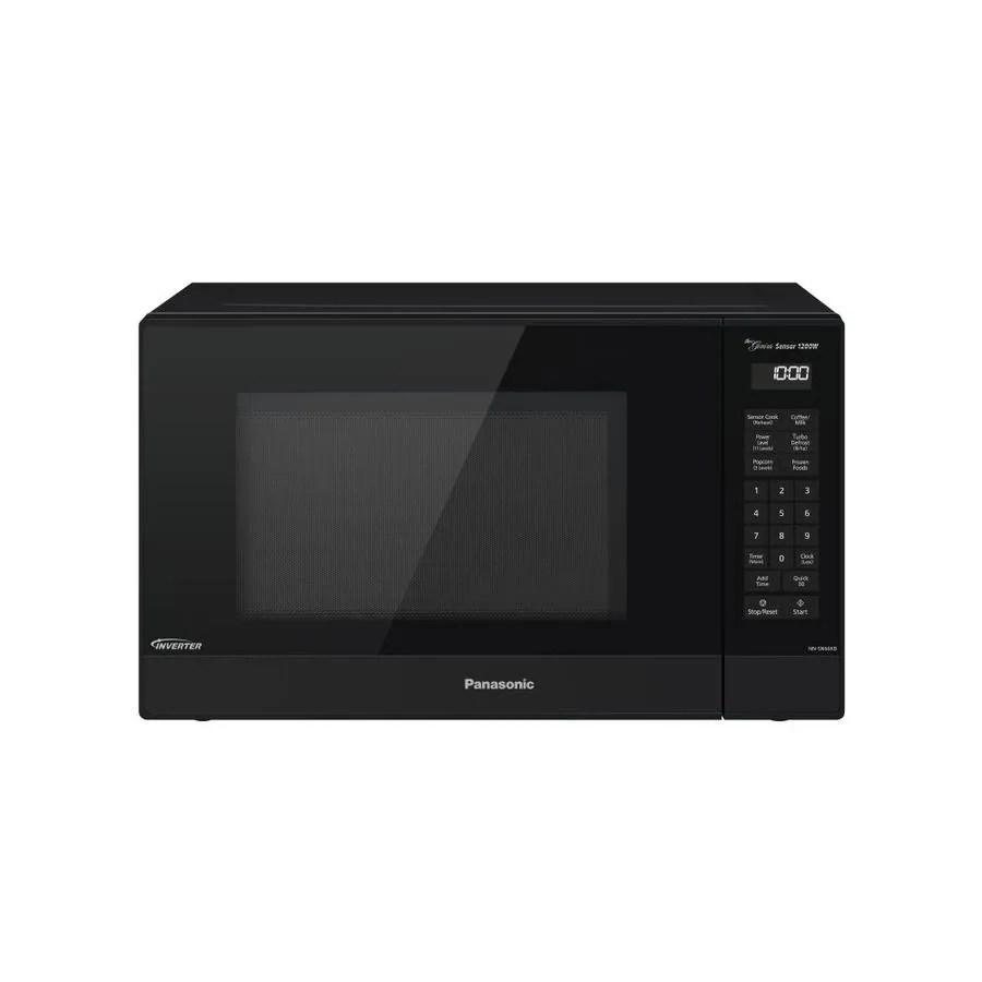 panasonic 1 2 cu ft 1200 watt countertop microwave black