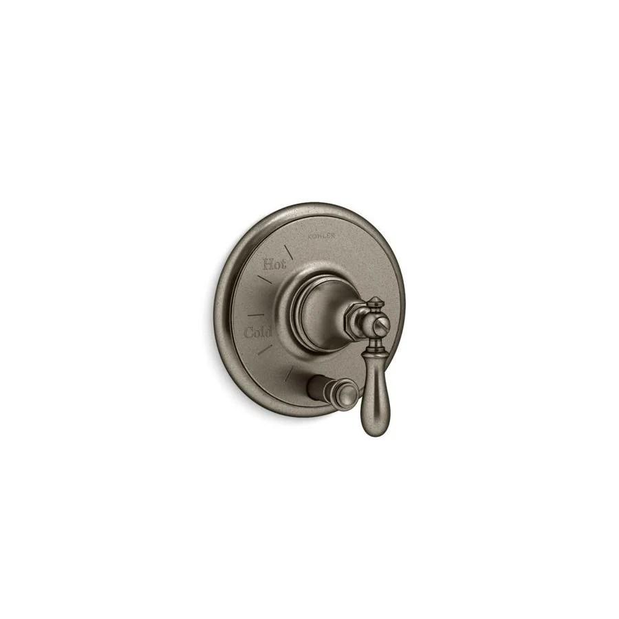 kohler vintage nickel lever shower