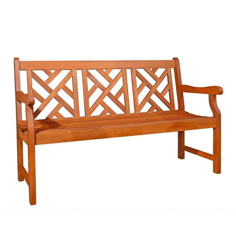 vifah 57 in w x 35 in l dining bench