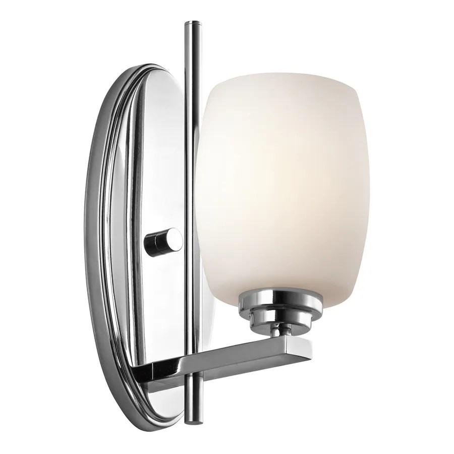 Shop Kichler Lighting 1-Light Eileen Chrome Modern Vanity ...