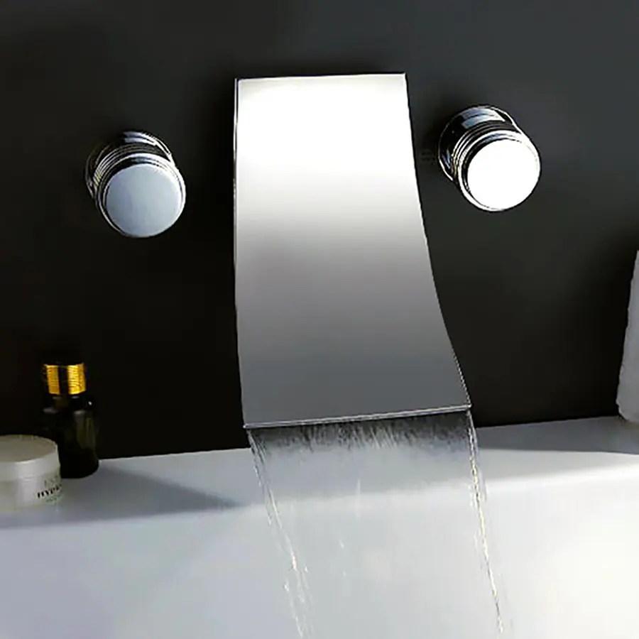 Shop Kokols USA Polished Chrome 2 Handle Wall Mount