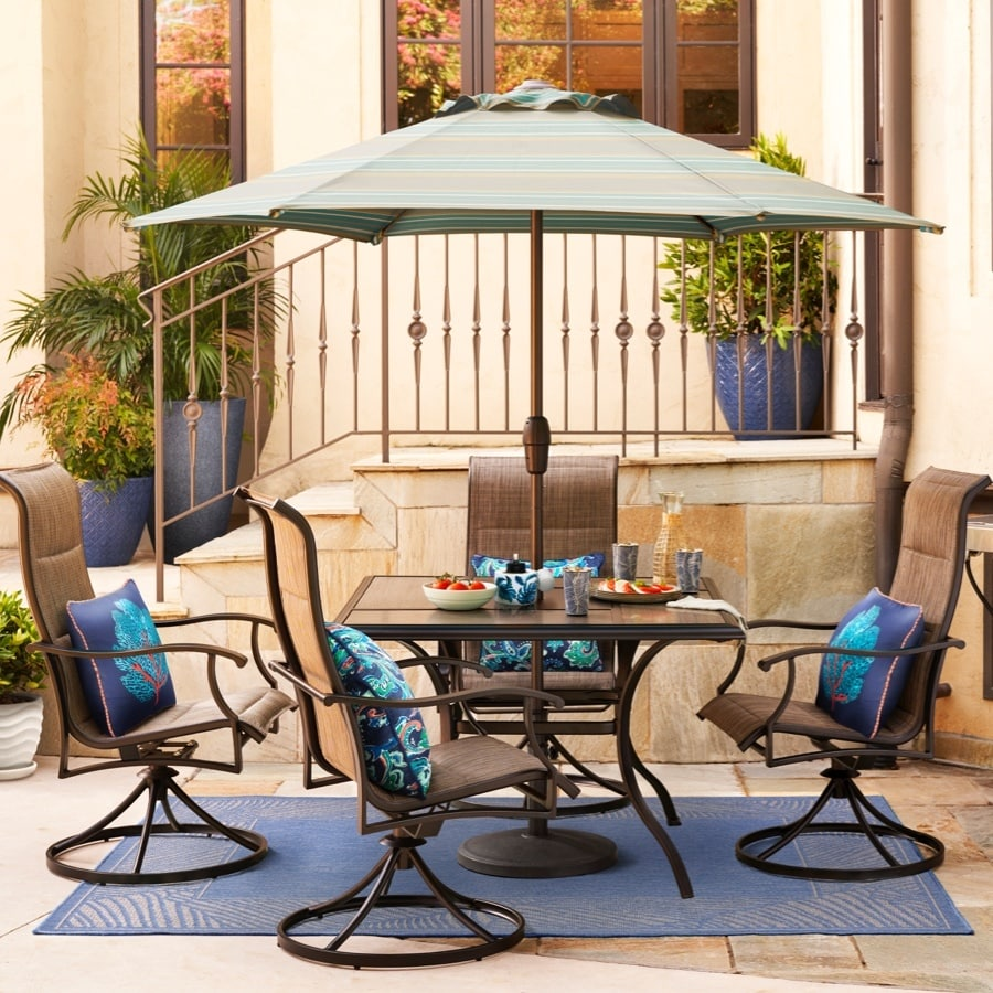 style selections skytop 5 piece patio dining set