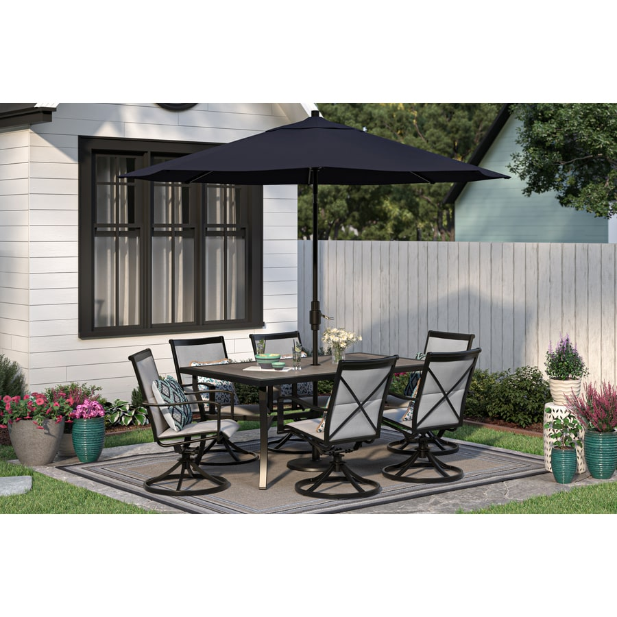 style selections melrose 5 piece patio dinining set